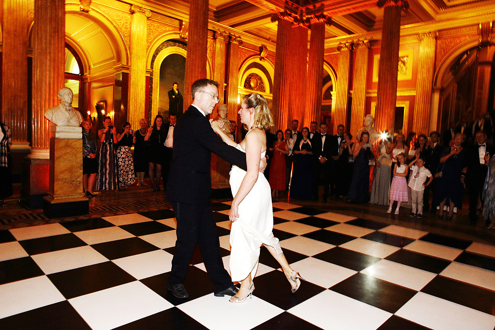 Reform Club Wedding Dance
