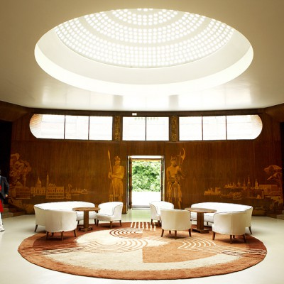 Main reception of Eltham Palace