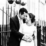 London newly wed couple.